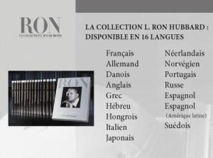 la biographie complète de Ron Hubbard traduite en 16 langues